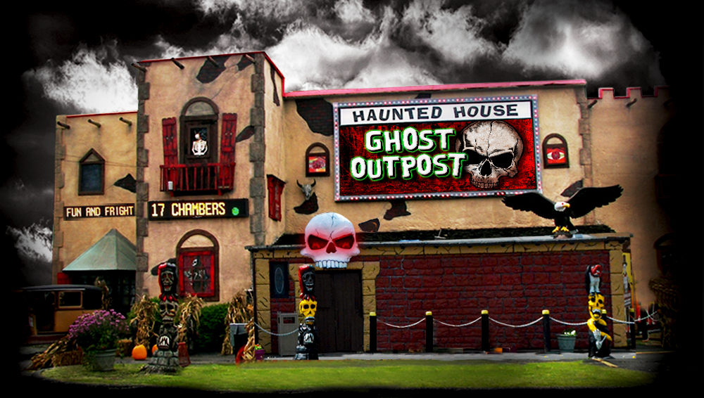 Ghost Outpost Haunted House