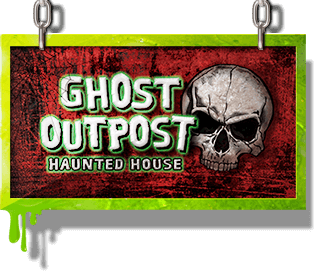 Ghost Outpost sign